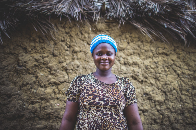 Assatu's, a resident in Liberia, suffered as an ebola victim who survived, unlike many of her family members