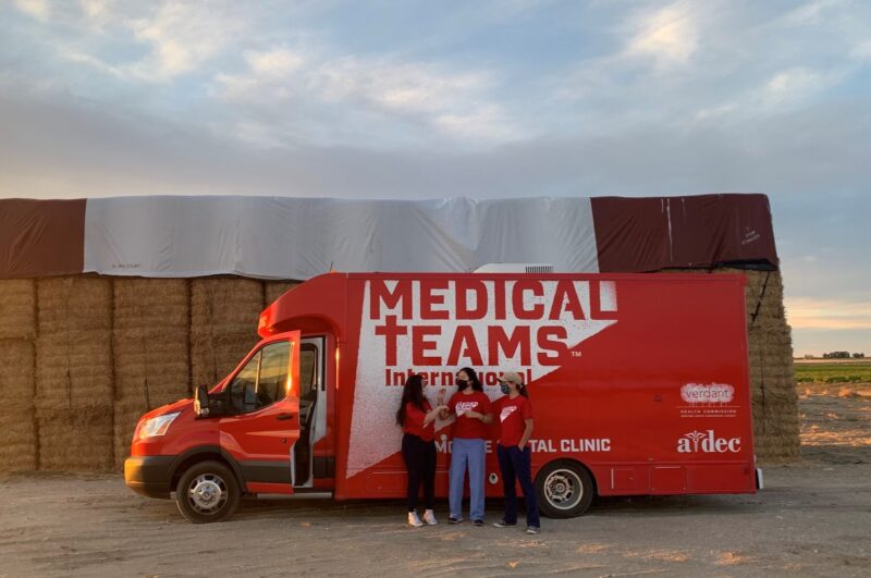 Mobile Dental Van, A-Dec