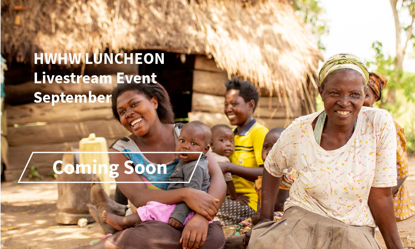 Coming Soon, Healthy Women Healthy World Luncheon, Livestream Event in September 2021