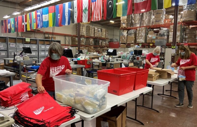 Hygiene Kits for Wildfire Relief