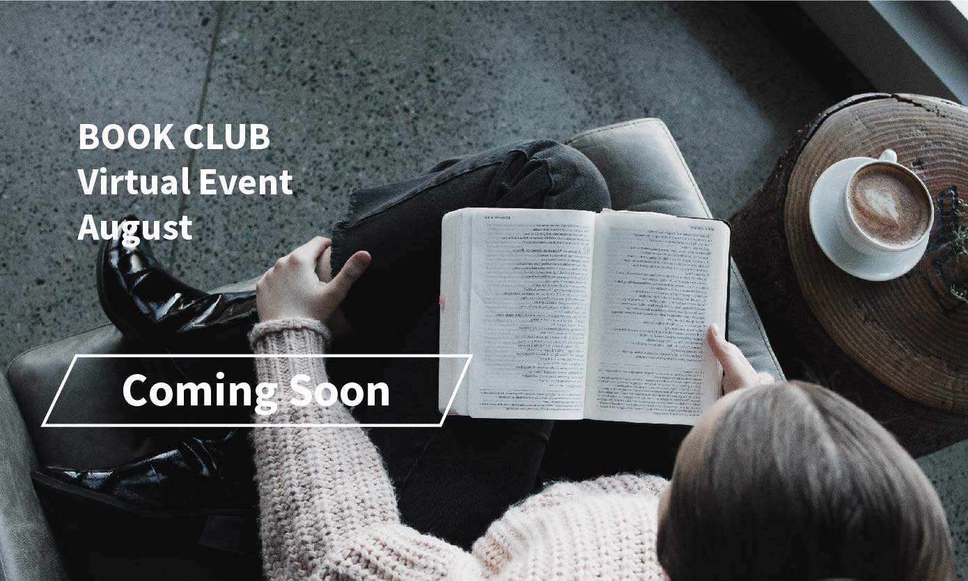 Coming Soon, Book Club Virtual Event in August 2021