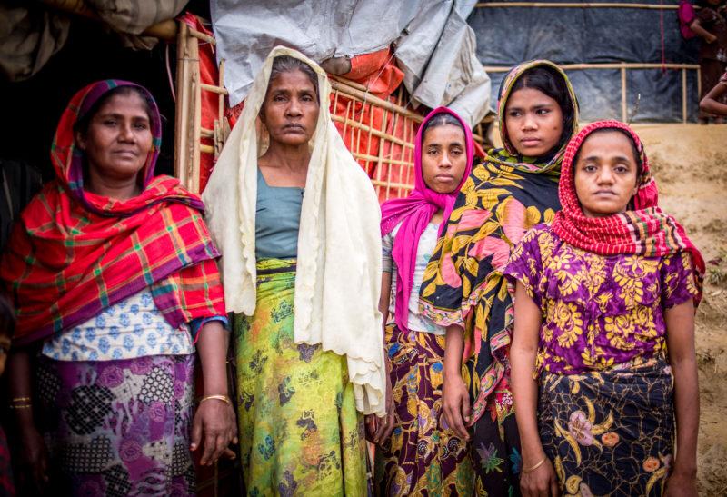 Rohingya Women Bangladesh Refugee