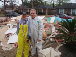 USA, Katrina volunteers, 2005