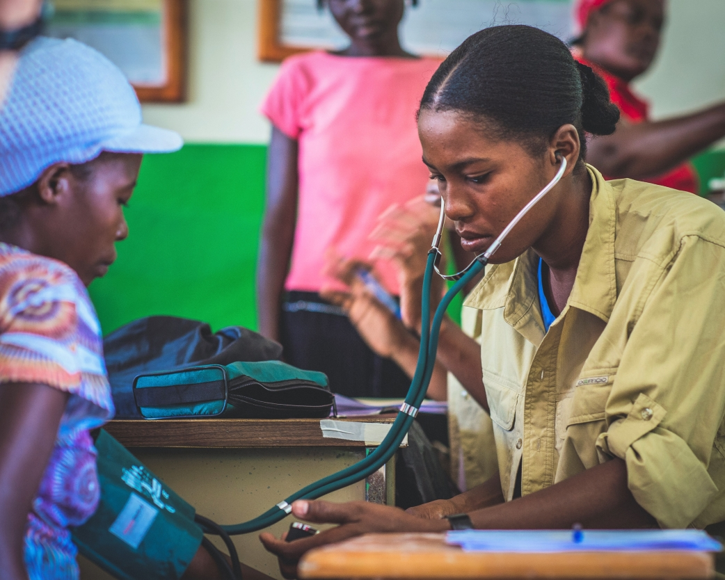 Arniquet medical treatment after Hurricane Matthew in 2016, Haiti